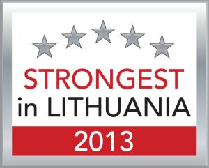 Strongest in Lithuania 2013